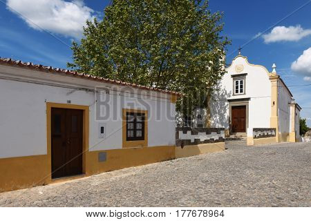 Calvario Church In The Village Of Redondo, Alentejo Region, Portugal