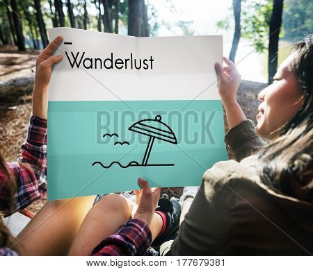 Summer Holiday Vacation Trip Directions Wanderlust