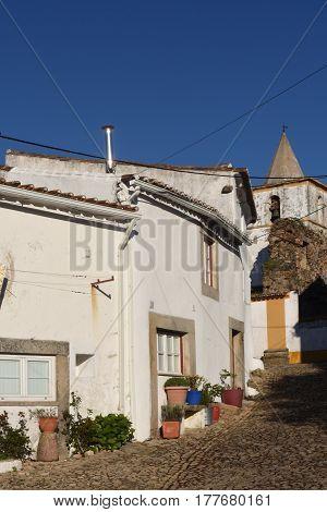 Church Within The Walls Of The Castle, Castelo De Vide, Alentejo Region, Portugal