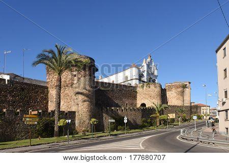City Walls. Plasencia. Cáceres Province. Extremadura. Spain