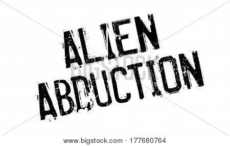 Alien Abduction rubber stamp. Grunge design with dust scratches. Effects can be easily removed for a clean, crisp look. Color is easily changed.