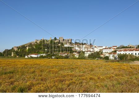 Village And Castle Of Montemor O Velho, Beiras Region, Portugal