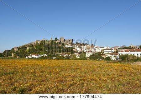 Village And Castle Of Montemor O Velho, Beiras Region, Portugal