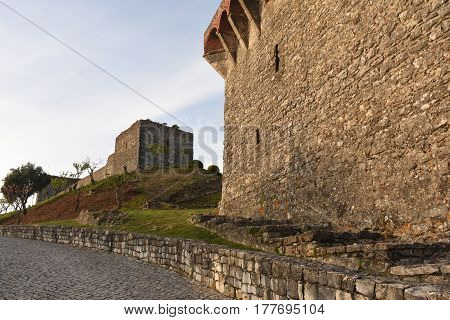 Castle of Ourem in the Beiras region, Portugal
