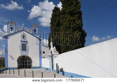 Santo Antonio Church In The Village Of Redondo, Alentejo Region, Portugal