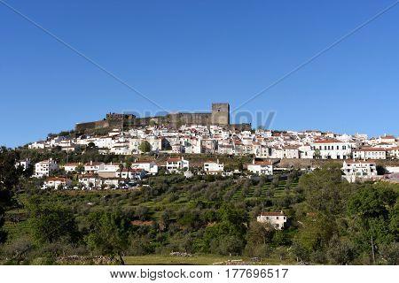 Village Of Castelo De Vide, Alentejo Region, Portugal