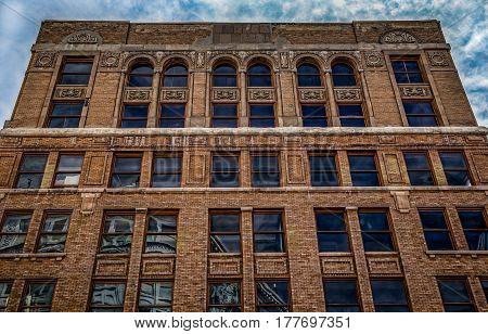 An old Building in El Paso Texas.