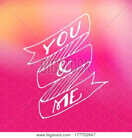 Quote - You and Me