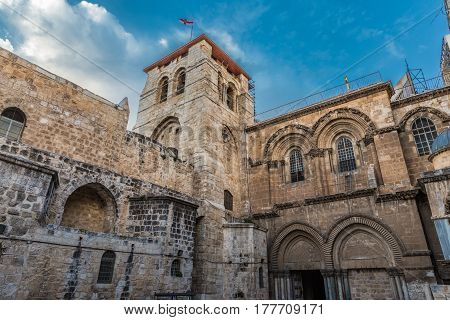 Church Of The Holy Sepulchre, Church Of The Resurrection Or Church Of The Anastasis By Orthodox Chri