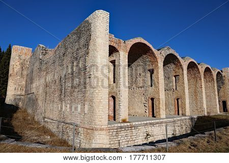 Ancient Barracks Of The Soldiers Of The First World War In The N