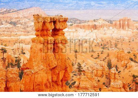 Beautiful panorama from Bryce Canyon National Park, Utah, USA