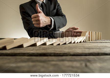 Problem Solved Business Concept