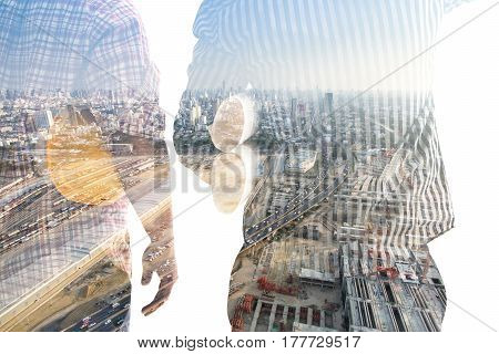 Double Exposure Engineer And Construction