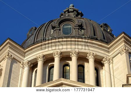Capitol Dome, South Dakota State Capitol, Pierre, South Dakota