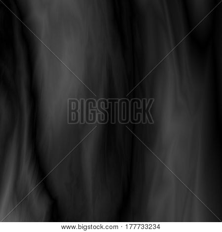 Black abstract marble background, futuristic fabric, silk texture with ambient occlusion effect for design concepts, wallpapers, presentations, web and prints. Vector illustration.
