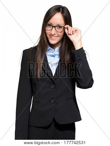 Portrait of a beautiful businesswoman