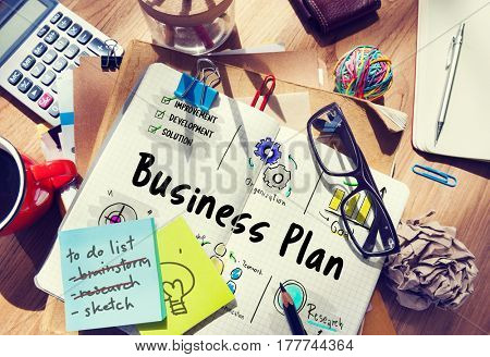 Business plan entrepreneur investment diagram
