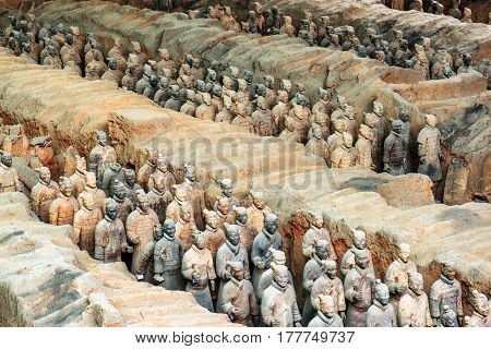 The Terracotta Warriors Inside The Qin Shi Huang Mausoleum