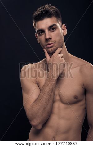 One Young Man, Shirtless Abs Body Hand Face Head