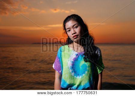 Asain Woman