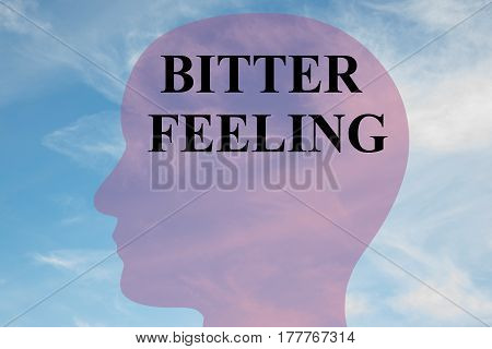 Bitter Feeling - Mental Concept