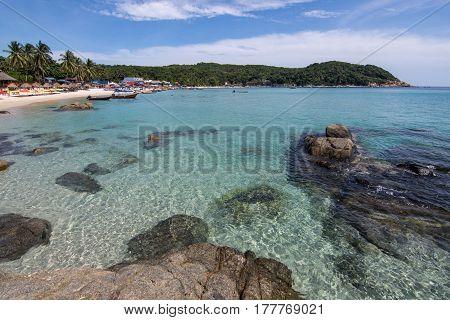 Crystal Clear Waters Of Pulau Perhentian Kecil