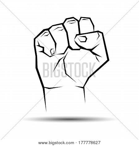 hand, vector, human, illustration, finger, symbol, icon, concept, design