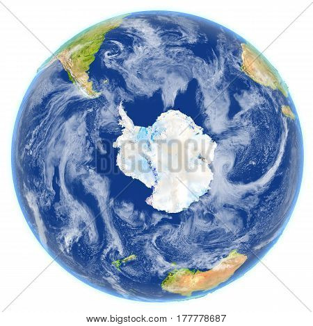 Southern Ocean On Planet Earth