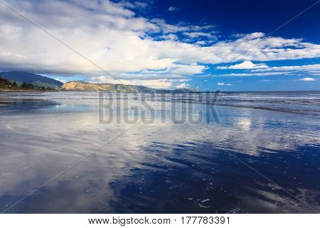 beautiful sea landscape. Location: New Zealand Aotearoa