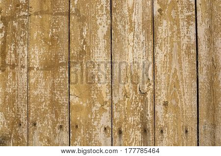 Brown plank wood wall background with black spaces