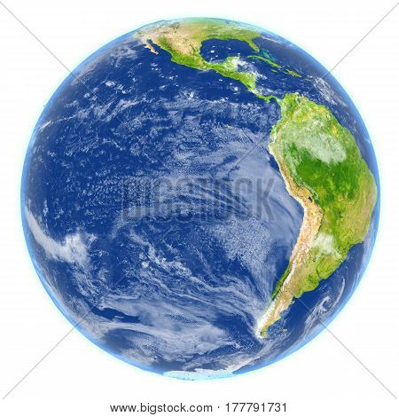 Eastern Pacific On Planet Earth