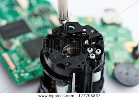 Repairing Of Dslr Lens