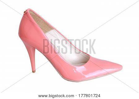 Elegant pink women shoes very fancy fashion