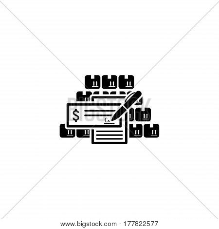 Wholesale Icon. Flat Design. Business Concept Isolated Illustration