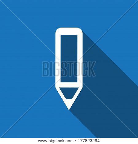 pencil icon stock vector illustration flat design