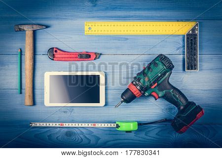 Tools On The Table