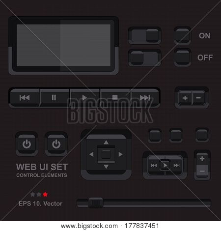 Player Interface Vector Photo Free Trial Bigstock