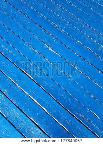 Light Blue Diagonal Aged Wood Planks Background