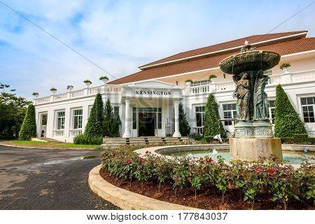 Nakhonratchasima Thailand - September 25, 2016 : Front Reception At Kensington English Hotel, Nakhon
