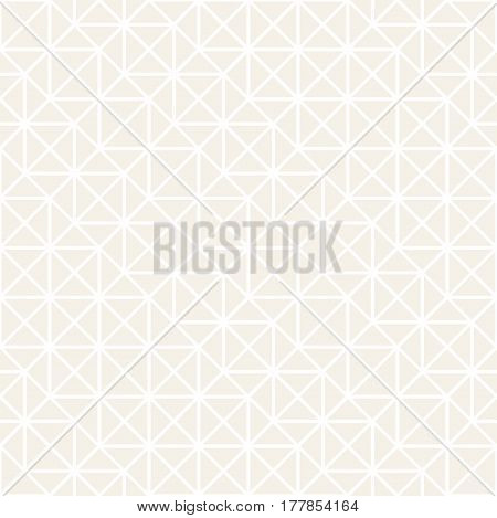 Subtle Seamless Pattern With Squares. Vector Abstract Background. Stylish Geometric Linear Structure