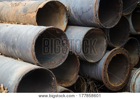 Pipe In The Water Treatment Process