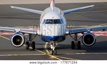 British Airways Cityflyer Embraer Plane