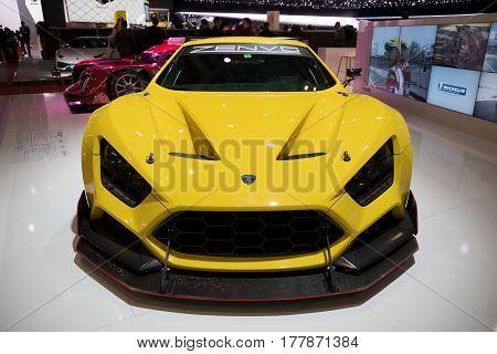 Zenvo Ts1 Gt Sports Car
