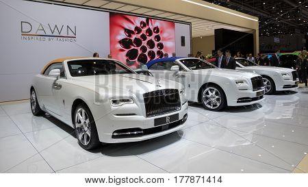 Geneva Rolls-royce Cars