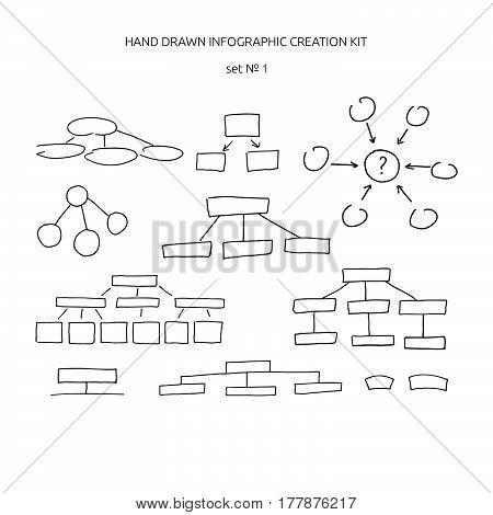 Hand Drawn Infographic Creation Kit.