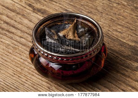 Agarwood, also called aloeswood, aloes,  incense chips.