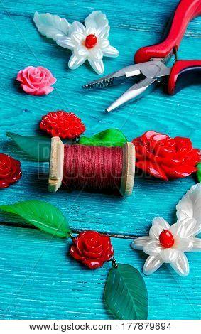 Needlework In Spring Style