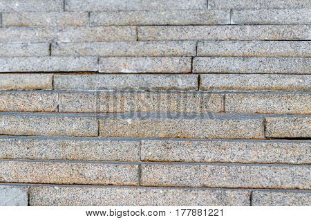 Wall Stairs Texture From Gray To Speckled Granite