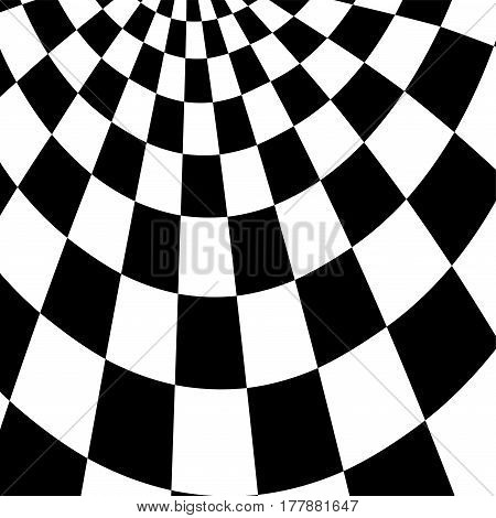 Racing Background With Checkered Flag Vector Illustration. Eps10