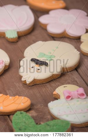 Gingerbread Cookies, Funny Cute Character